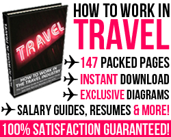 how to work in travel